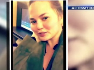 Tokyo-bound flight with Chrissy Teigen forced to return to Los Angeles