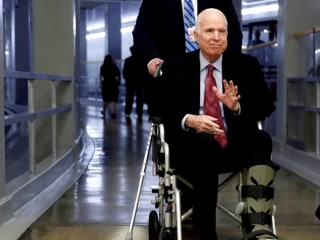 Sen. McCain hospitalized during critical week for Congress