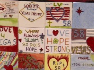 Las Vegas receives a flood of heart-warming messages