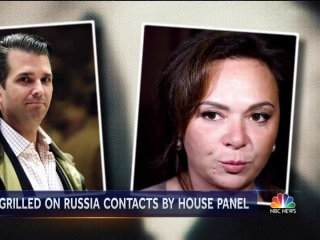 Donald Trump Jr. questioned by House panel on meeting with Russian lawyer