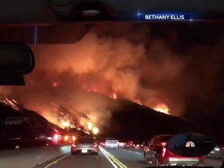 Hundreds of homes lost in Southern California wildfires