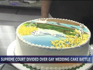 Supreme Court hears why baker refused to make wedding cake for gay couple