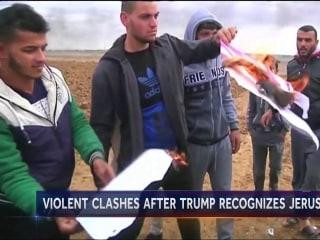Unrest erupts in Mideast after Trump's Jerusalem decision