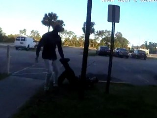 Video shows lethal encounter between man and Florida police