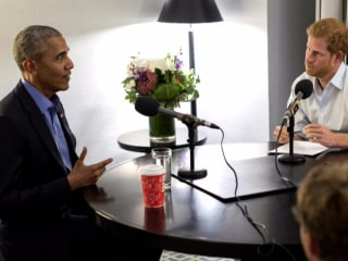 Prince Harry's interview with Obama to air this month