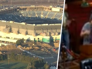 Highs and Lows: Stadium implosion fail, city council meeting crasher