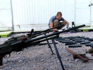 Battlefield researchers uncover ISIS arsenal and weapons factory in Iraq
