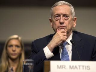 Mattis: Military's primary focus is Russia and China, not terrorism