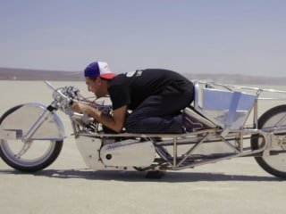 Chasing 200 mph: One man's journey to build the world's fastest vintage motorcycle