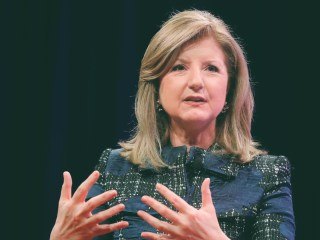 Arianna Huffington redefines what it takes to be successful