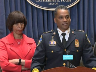 Baltimore names new police commissioner during record murder rate