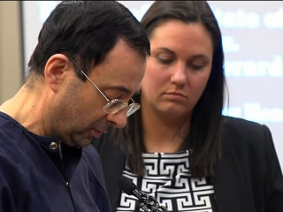 Former gymnastics doctor Larry Nassar gives final statement