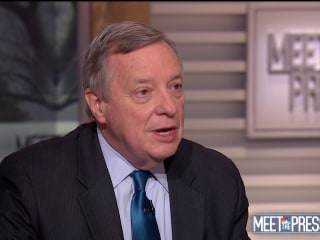 Full Durbin Interview: 'I wish the president would help us'