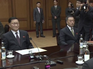 North-South Korea talk music instead of missiles