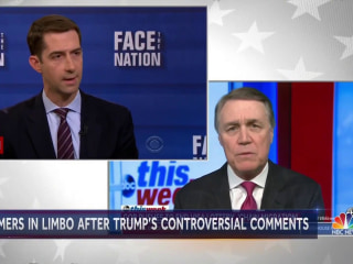 Republican Senators defends Trump after 'shithole' comment