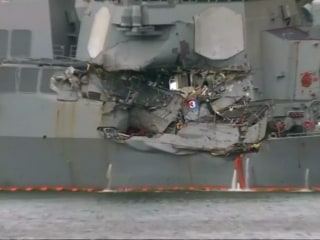 Ex-Navy commanders face criminal charges over destroyer collisions