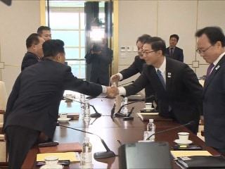 North and South Korea unite for Olympics amid tense nuclear standoff