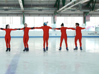 Have you ever dreamed of being an Olympic skater? We tried it!
