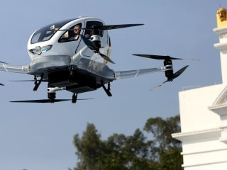 World's first passenger drone unveiled in China