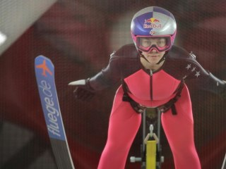 Learning to Fly: Wind tunnel training takes ski jumper Sarah Hendrickson to new heights