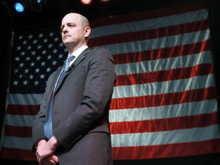 Evan McMullin: 'When you lose yourself in service, you find yourself'