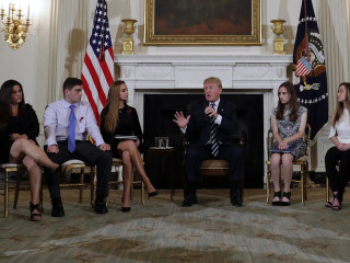 Watch President Trump's full discussion with families impacted by gun violence