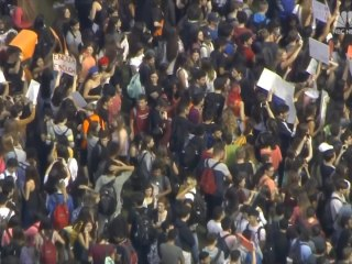 Across the country students stage walkouts to protest gun violence