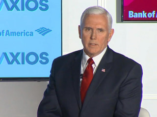 Pence on Rob Porter: 'I think the White House could've handled this better'