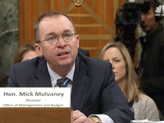 Mulvaney on Budget: If I were in Congress, I would 'vote against it'
