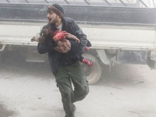 Multiple airstrikes take a heavy toll on eastern Ghouta