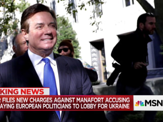 BREAKING: Mueller files new charges against Paul  Manafort