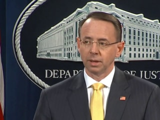 Rosenstein: 13 Russians charged for interfering in US election
