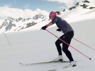 Trailblazing cross-country skier Kikkan Randall wins historic gold