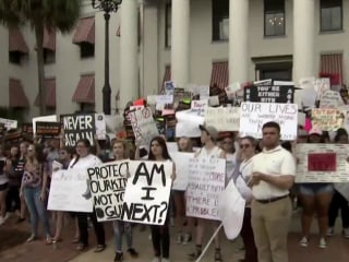 Kids flock to Florida State Capitol to march for gun reform