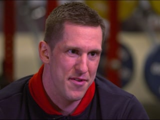 Meet the American bobsledder who trained during military combat
