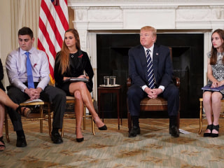 Trump indicates he's open to stricter gun laws
