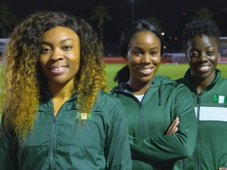 Nigerian women's bobsled team makes Olympic history