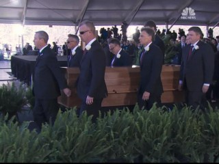 Reverend Billy Graham is laid to rest