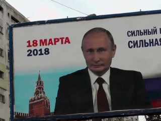 Vladimir Putin expected to win reelection after Sunday's presidential vote