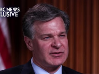 FBI Director: There are more than 3,000 open terrorism investigations