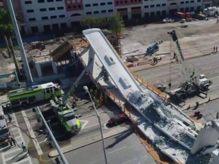 Collapsed Florida bridge was built using 'accelerated' technology