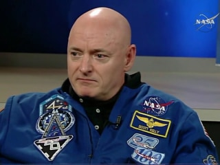 Astronaut's DNA different than his twin's after year in space