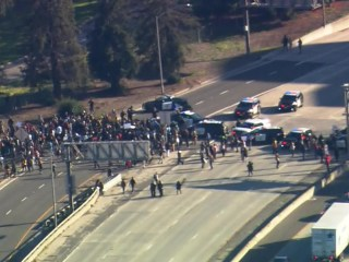 Protests erupt in wake of police shooting in Sacramento