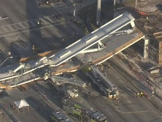 Engineer reported cracks in walkway days before Florida bridge collapse