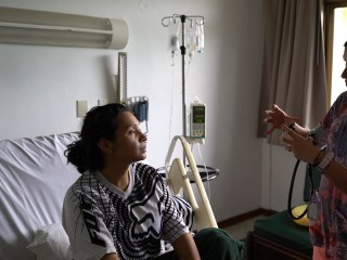 A country in crisis: a healthcare system on the brink of collapse