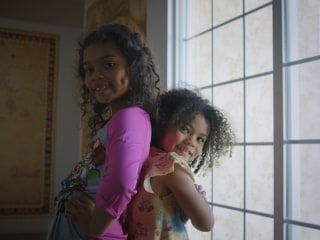 'Be kind, loving and don't get bitter': One black dad's advice to his multi-racial daughters