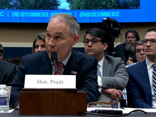 Pruitt on phone booth spending: 'I would have refused it'