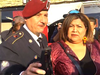 Deported veteran speaks out before becoming US citizen