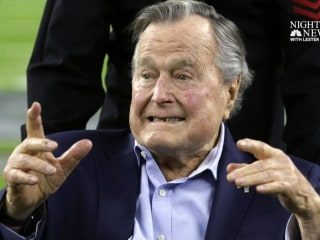 George H.W. Bush said to be doing 'much better' after hospitalization