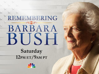 Watch Live: Funeral for former first lady Barbara Bush